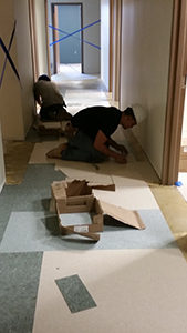 Carpet Tile Installation NYC
