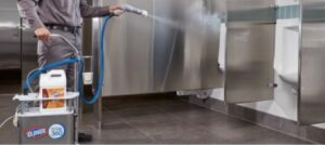 Electrostatic Disinfection Commercial Carpet Cleaning